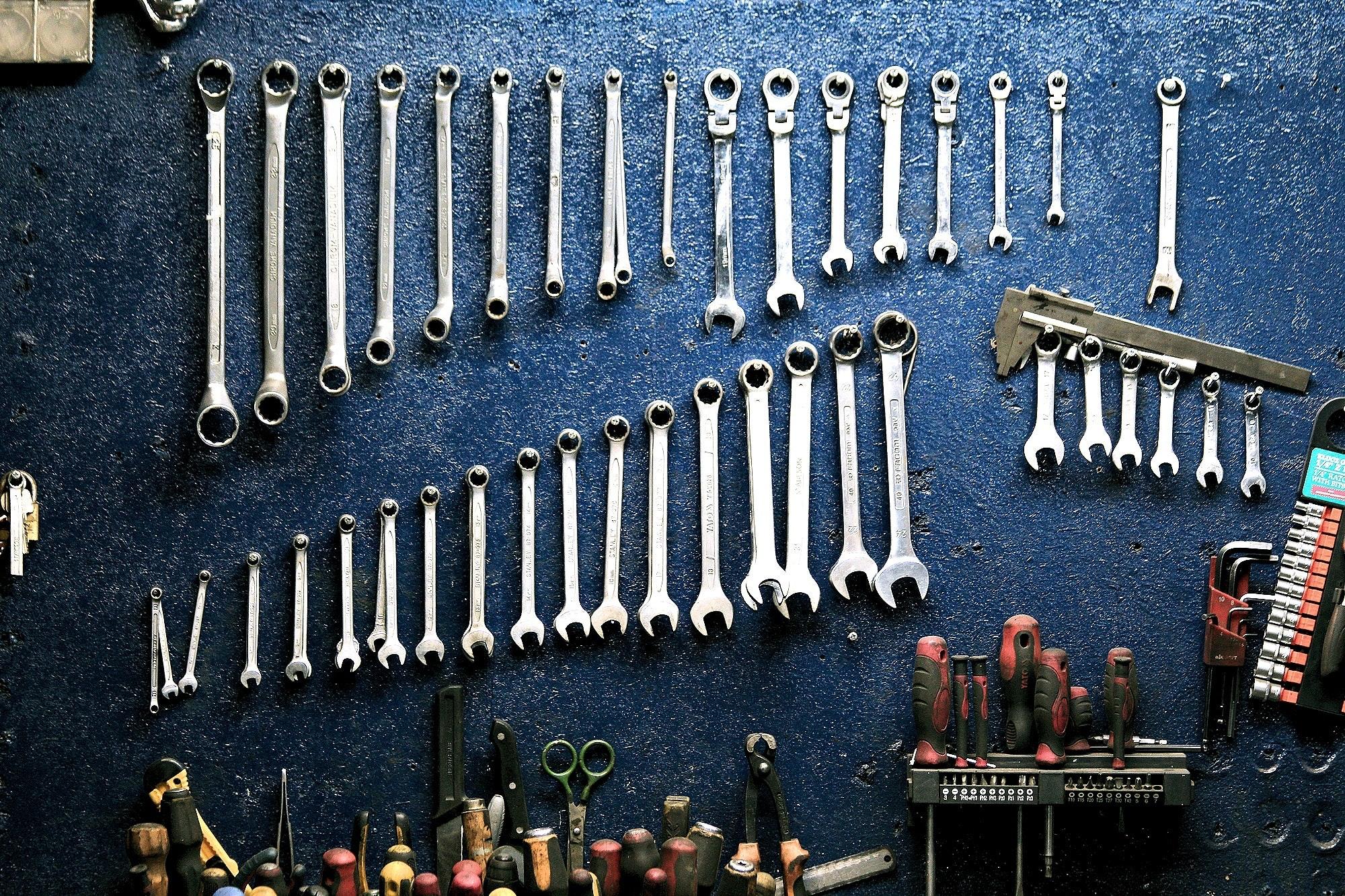 Mekanikerns vanligaste verktyg - blocknycklar